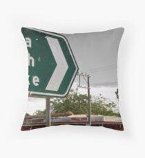 Wilcannia Cross Roads Throw Pillow