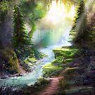 «Corriente del bosque» de Johannes Kert Roots