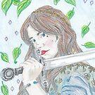 Fantasy portrait by edwardiangirl