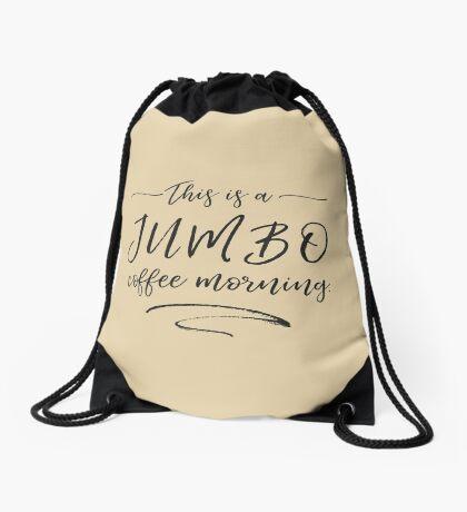 JUMBO coffee Drawstring Bag