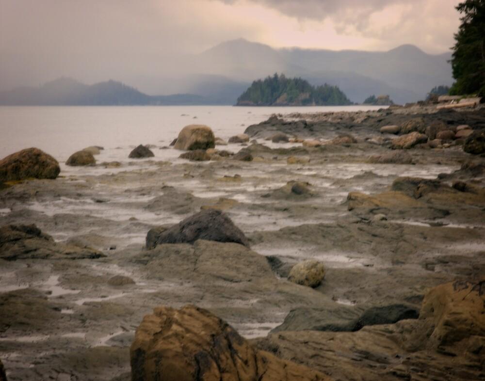Beach at Balance Rock by Yukondick