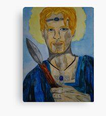 Saint Oswin of Deira Canvas Print