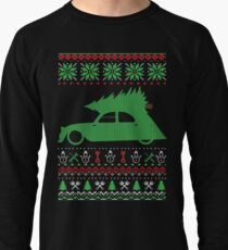 2CV Duck Christmas Ugly Sweater XMAS Lightweight Sweatshirt