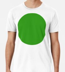 GREEN, CIRCLE, SPOT, ISSUES, NATURE, ENVIRONMENT, PARTY Premium T-Shirt