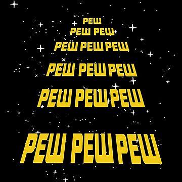 PEW PEW Wars Parody by PopArtdom