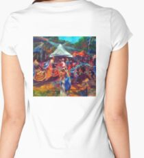 Celebrating Community Women's Fitted Scoop T-Shirt