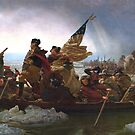 Washington Crossing the Delaware, by edsimoneit