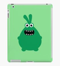 Crazy funny monsters in green iPad Case/Skin