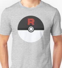 Team Rocket Poke Ball Unisex T-Shirt