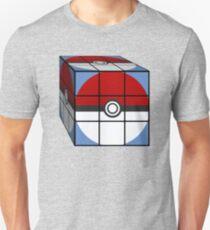 Poke Ball Rubik's Cube T-Shirt