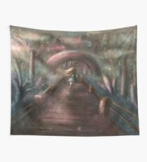 Fortress Road Wall Tapestry