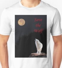 Save The Wolf Slim Fit T-Shirt