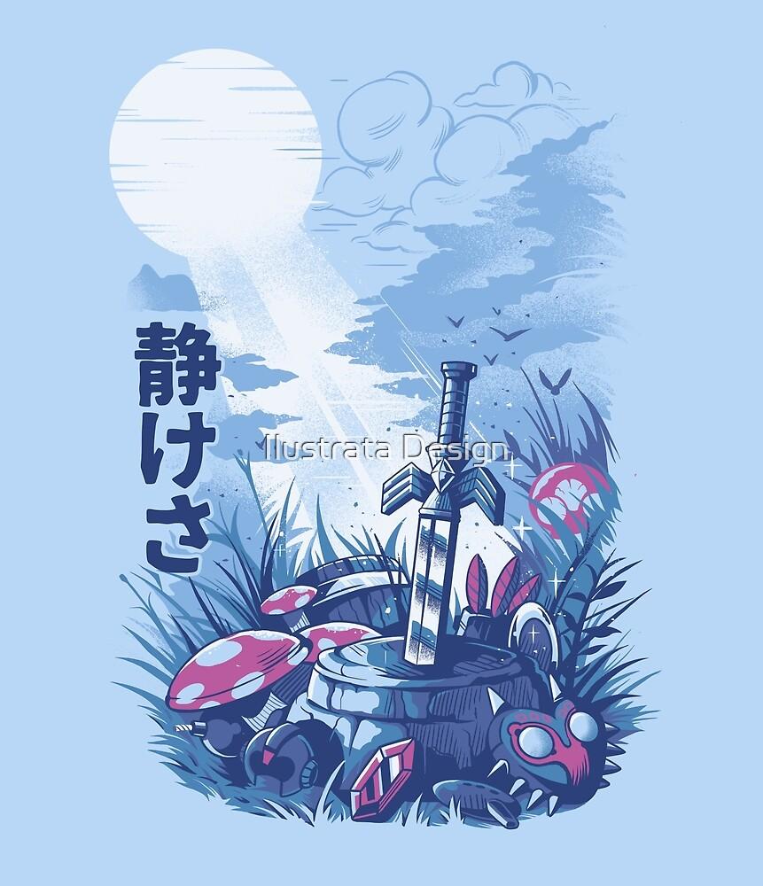 Spiele im Wald von Ilustrata Design