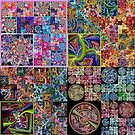 JWildfire Fractal Quilt Pattern 3 by wolfepaw