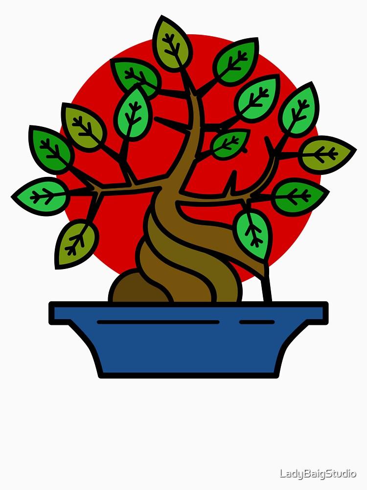 Bonsai Tree by LadyBaigStudio