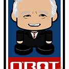 George Bush Sr Politico'bot Toy Robot 2.0 by Carbon-Fibre Media