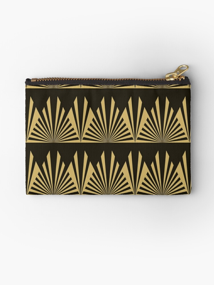 Art deco,black and gold,geometric,pattern,vintage,chic,1920 era by love999