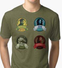 Brownstone Brewery: Elementary Set #1 Tri-blend T-Shirt