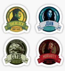 Brownstone Brewery: Elementary Set #1 Sticker