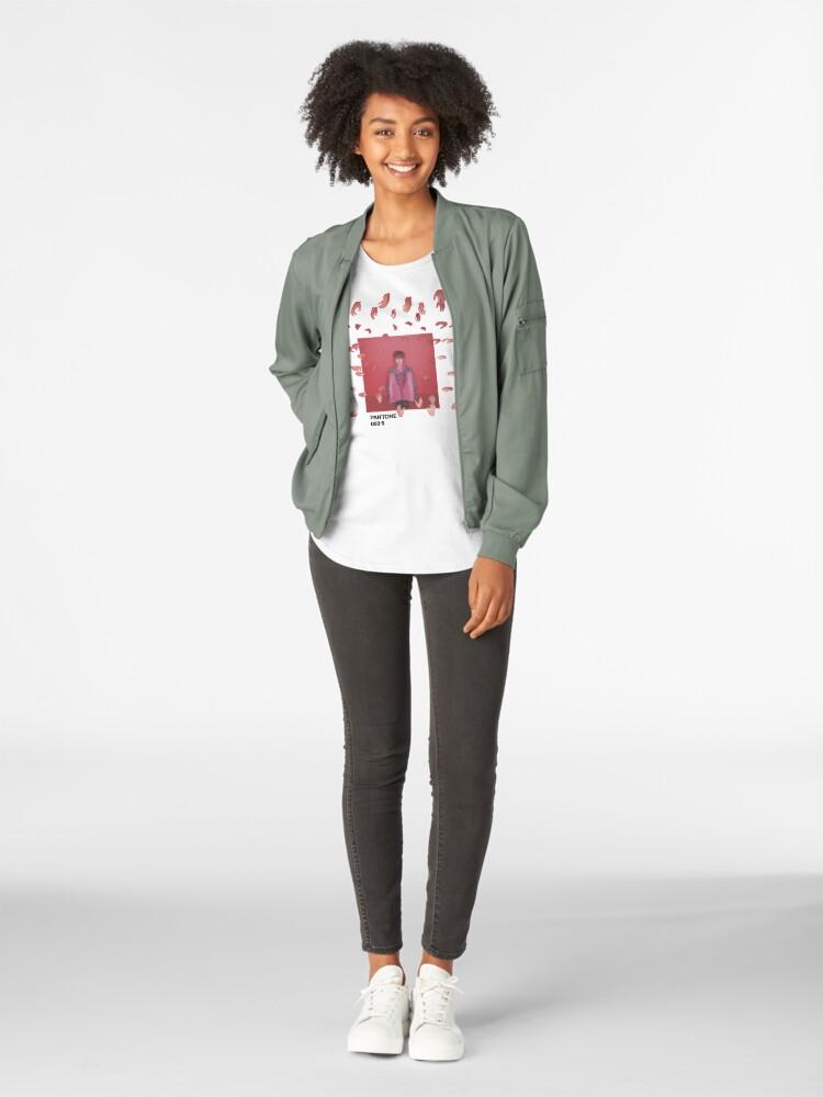 Alternative Ansicht von PANTONE JIMIN (BTS) Premium Rundhals-Shirt
