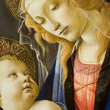 The Virgin and Child Renaissance Religious art by Glimmersmith
