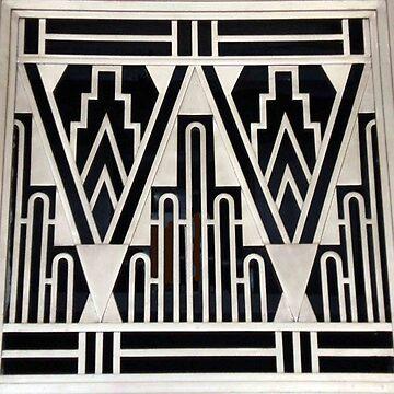 Art deco,gold,black,geometric,metallic,digital photo,original,pattern,vintage,1920 era by love999