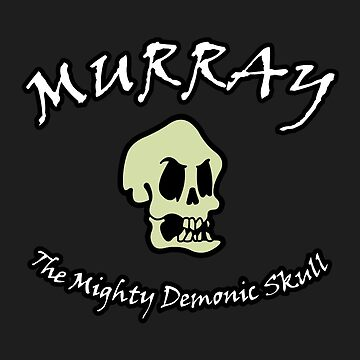 Murray The Mighty Demonic Skull by robotghost