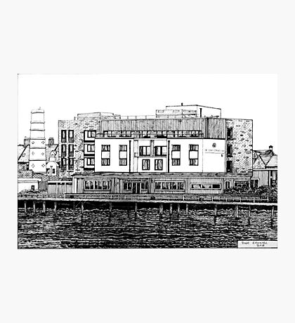 281 - COMMISSIONERS QUAY, BLYTH - DAVE EDWARDS - INK - 2018 Photographic Print