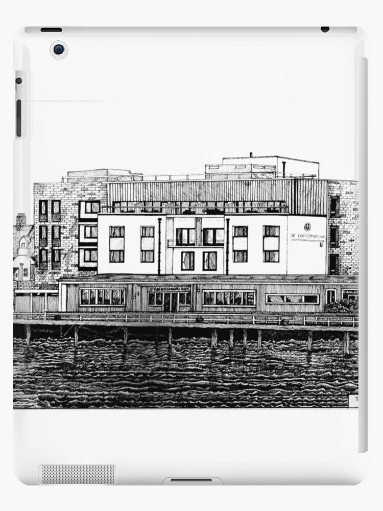 281 - COMMISSIONERS QUAY, BLYTH - DAVE EDWARDS - INK - 2018 by BLYTHART