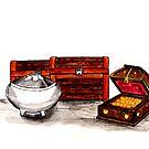 Gold, Frankincense, and Myrrh by EuniceWilkie