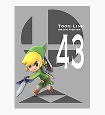 Lámina fotográfica Smash Ultimate: Enlace Toon (43)
