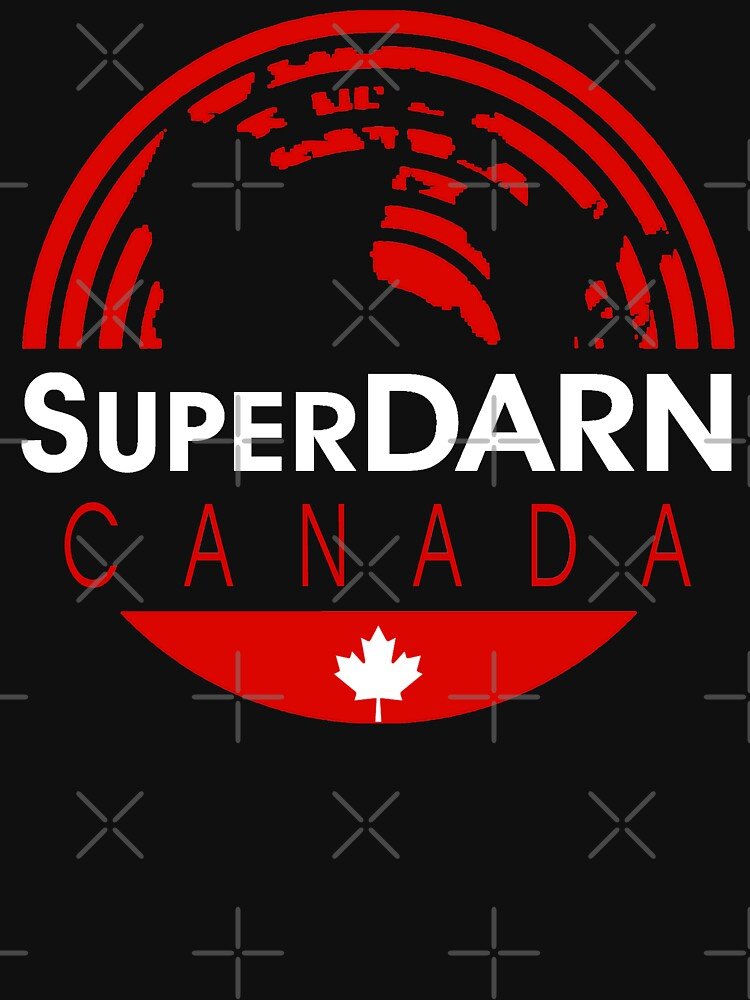 SuperDARN Canada Dark Colors Round Logo by Vroomie