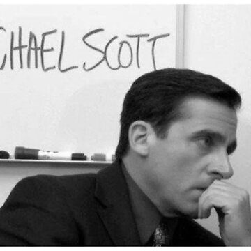 Michael Scott, The Office - You Miss 100% of the Shots You Don't Take by serendipitous08