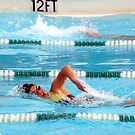 """Girl Power"" Freestyle Swimmer SHS La Habra, CA All Rights Reserved Hedger Photography by leih2008"