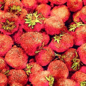 Strawberries by perkinsdesigns
