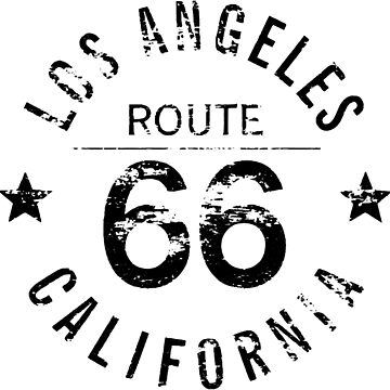 Los Angeles California Route 66 by derpfudge