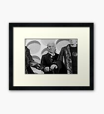 The Old Times Framed Print
