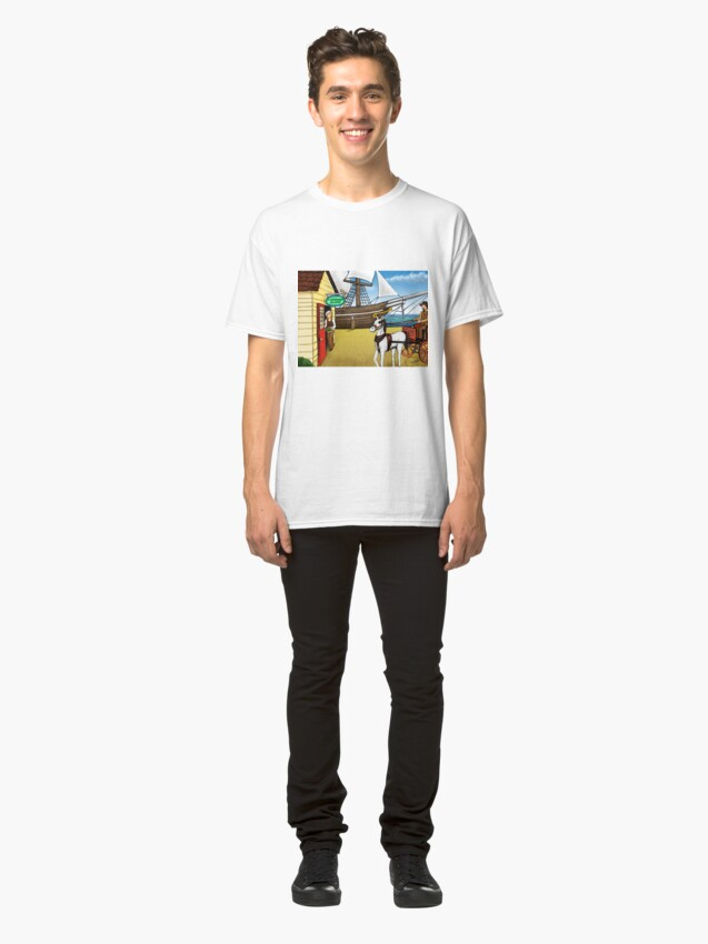 Alternate view of Fisherman's Wharf Classic T-Shirt