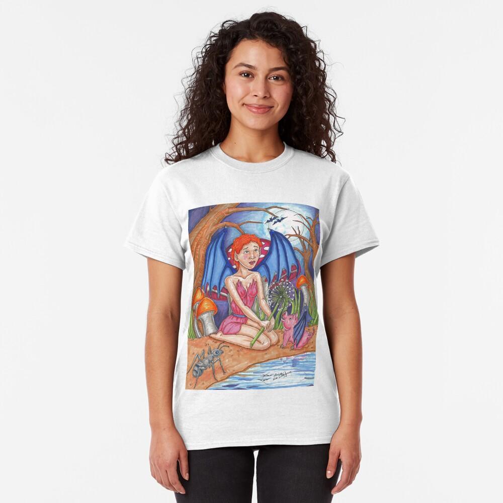 Bat Fairy and Bat Pig Classic T-Shirt