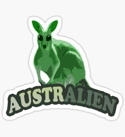 AustrAlien t-shirt Sticker