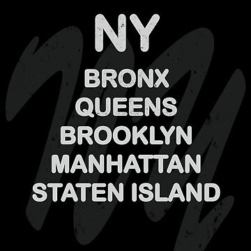 New York Districts  by DeLaFont