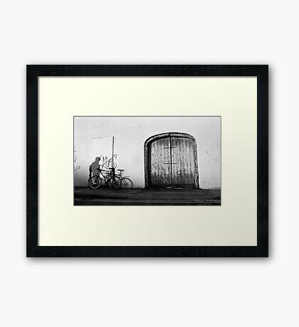 ShadowRider Framed Print
