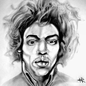 Hendrix by firefly1n1