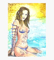 Woodland Water Elf Photographic Print
