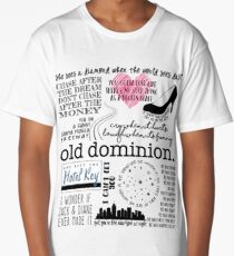 Old Dominion Lyrics Long T-Shirt