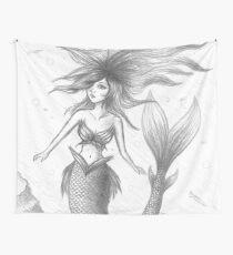 Mermaid #1 Wall Tapestry