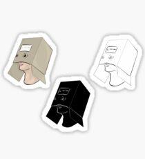 Finn Wolfhard's Boxman Sticker