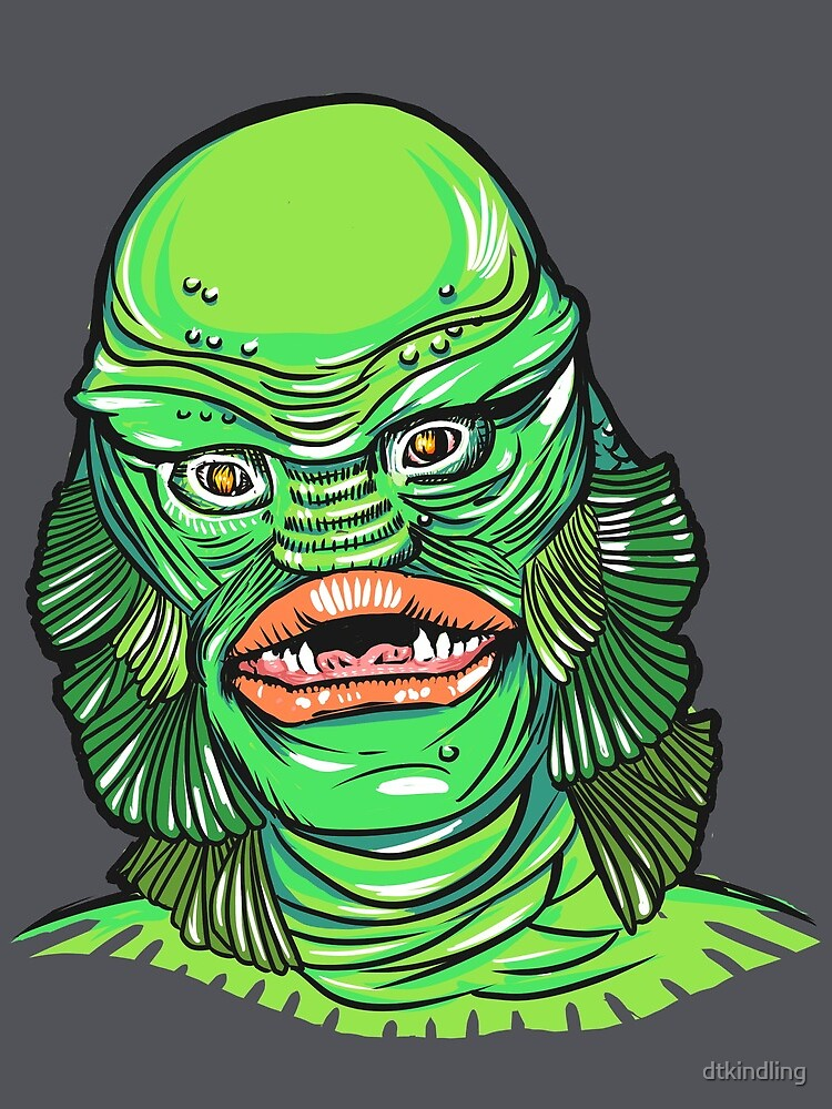 Creature from the Black Lagoon by dtkindling