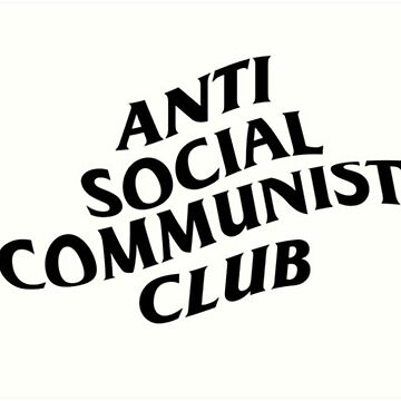 Anti Social Commy Club by GrizzlyGoods