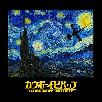 Cowboy Bebop - Starry Night by SQWEAR